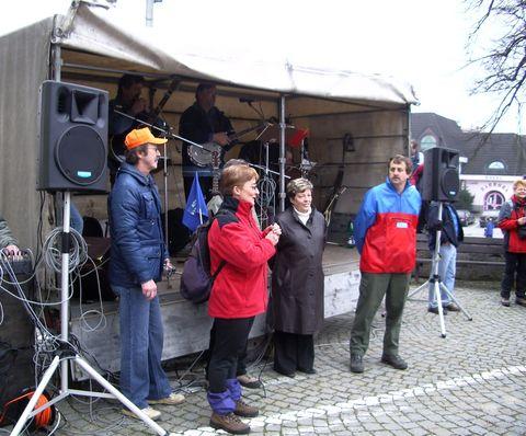 Zahájení jarní turistické sezóny ve Světlé v roce 2007
