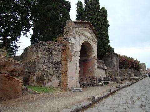 ulice náhrobků