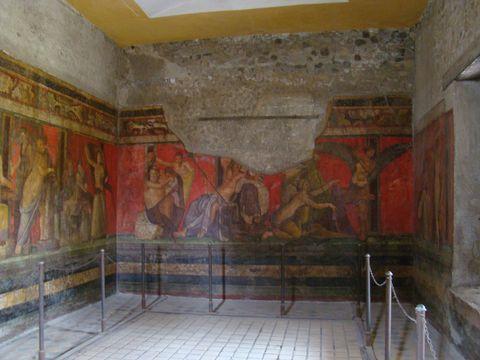 sál s freskami dionýských záhad 2