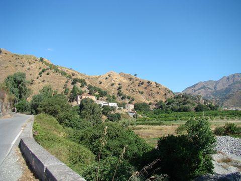 jizní výbězky pohoří Aspromonte