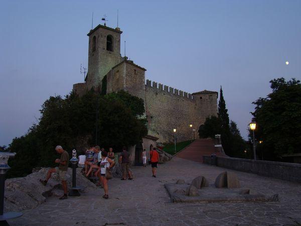 jedna ze tří pevností v San Marinu