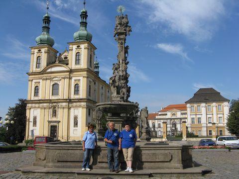 náměstí v Duchcově