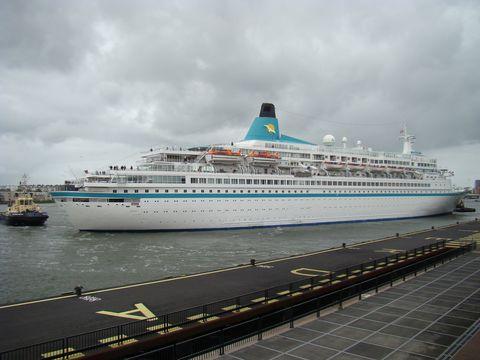 v amsterdamském přístavu