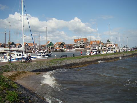 přístav ve Volendamu