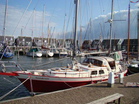 přístav v Marken