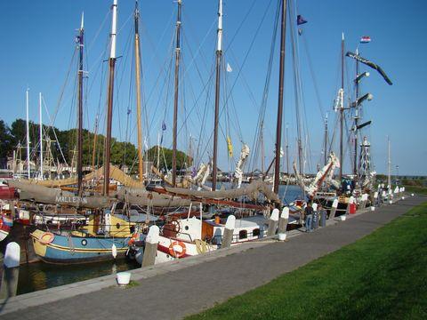 přístav v Enkhuizen