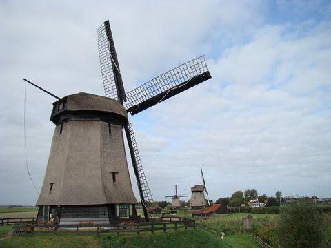 krajina větrných mlýnů