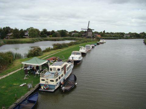 rekreační oblast u Alkmaaru