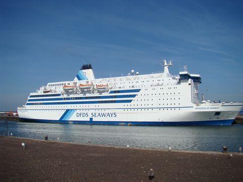 Norská princezna v holandském přístavu