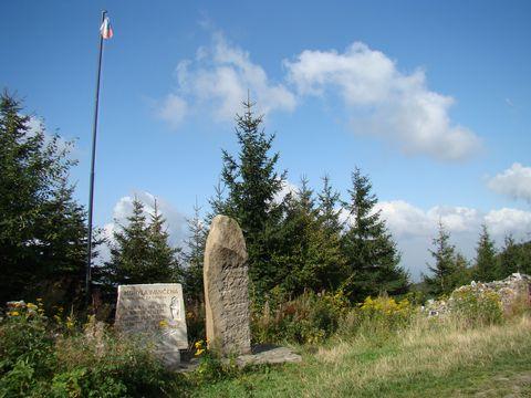památník na Ivančeně
