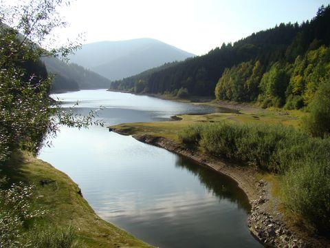 přehrada Sance, Masarykovo údolí