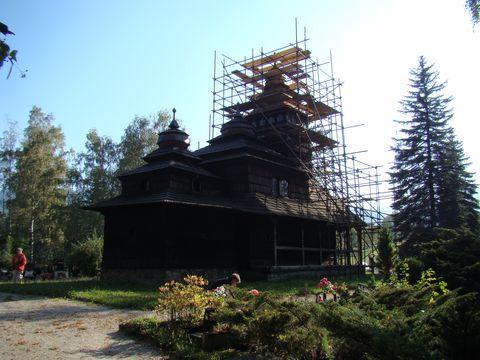 dřevěný kostelík v Kunčicích
