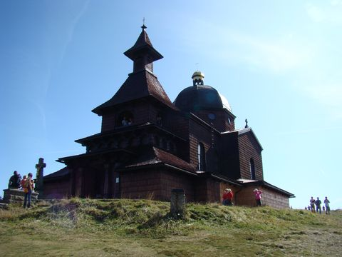 kostel na Radhosti