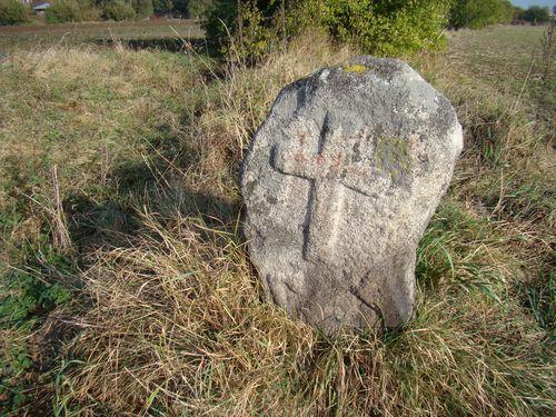 křízový kámen na okraji Třebíče