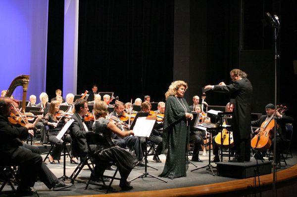 Gabriela Beňačková s Komorní filharmonií Vysočina