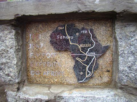 obec Doupě připomíná Foitovy africké cesty
