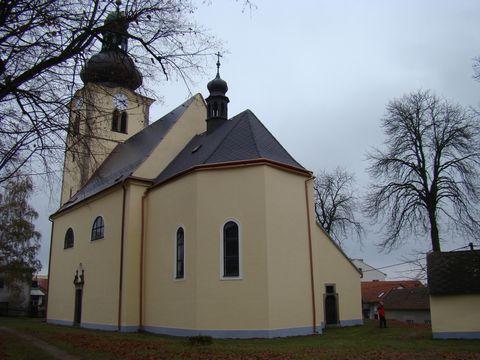 kostel sv. Václava ve Stonařově