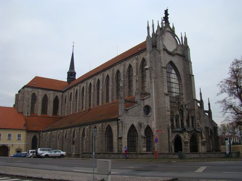 kostel Nanebevzetí Panny Marie v Sedlci