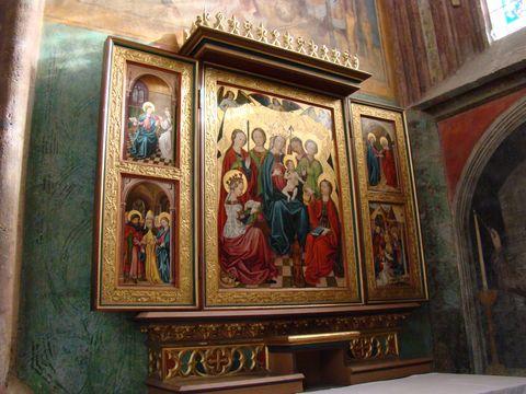 boční oltář 1