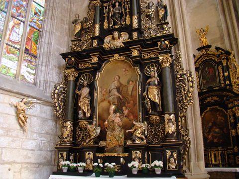 boční oltář 2