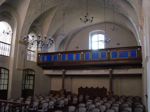 synagoga slouzí kulturním účelům