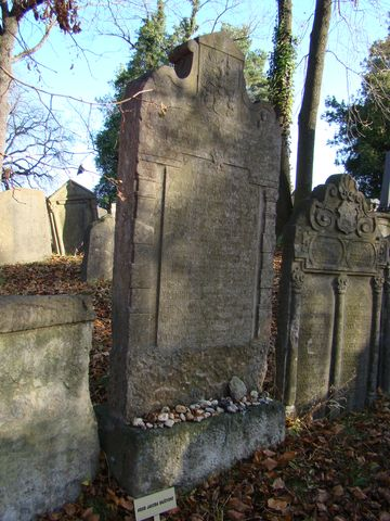 náhrobek Jakoba Baseviho
