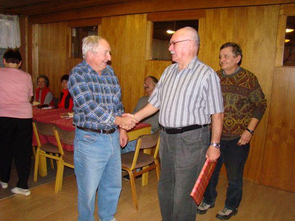 Frantisek Dohnal také oslavil během sezóny kulaté jubileum