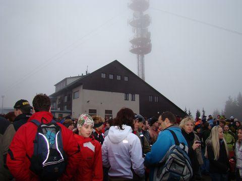 31. 12. 2009 na vrcholu Javořice