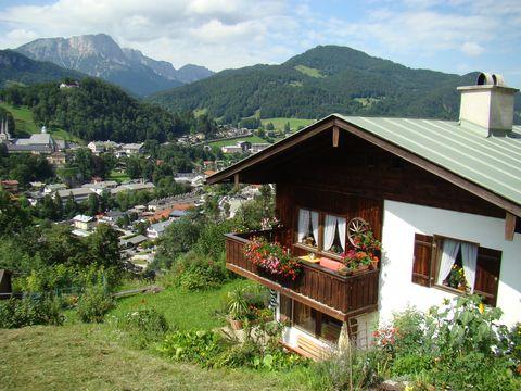 sestup do Berchtesgadenu