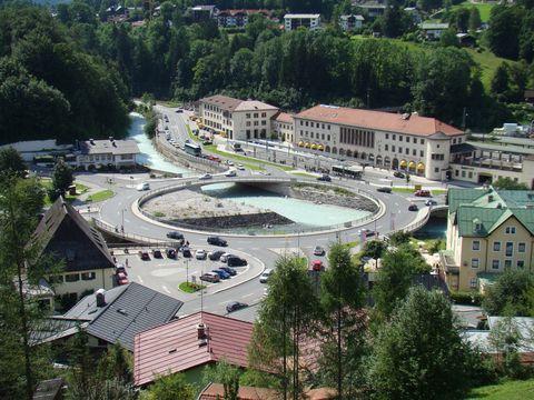 u nádrazí v Berchtesgadenu