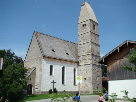 kostel v Hirnsbergu