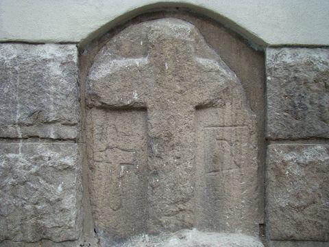 křízový kámen ve Znojemské ulici