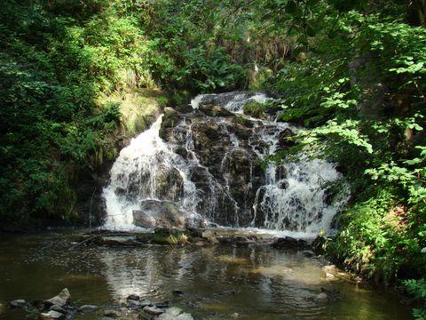 vodopád u Zlatomlýna