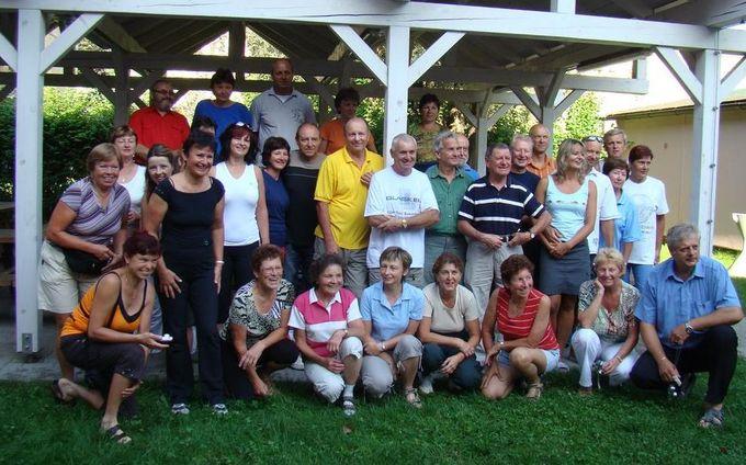 účastníci zájezdu 08-2009