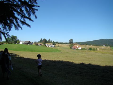 vesnička Stadlberg lezí na hranici