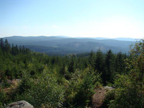 pohled z hory Myslivna