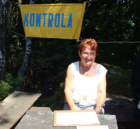 ředitelka pochodu Libuse Kuchtová, Mistr turistiky