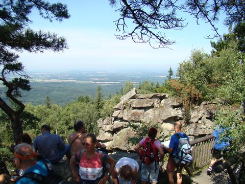 pohled na české území