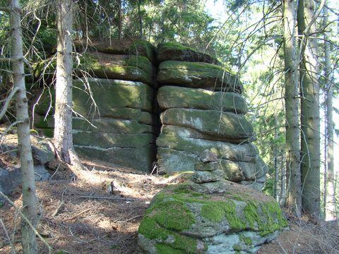 skalní bloky