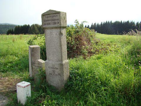 zemská hranice česko-rakouská