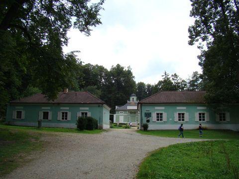 Lázničky z konce 18. století v Terčině údolí