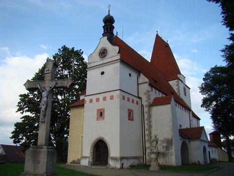 kostel sv. Mikuláse v Horní Stropnici