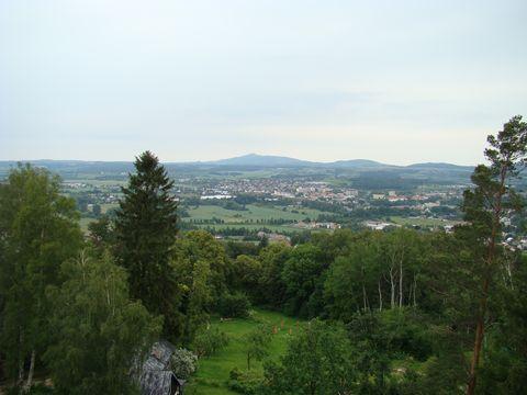 pohled z Hlavatice na Turnov