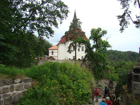 kaple sv. Jana Nepomuckého na Valdstejně