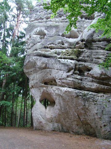 skalní věz zvaná Osudová