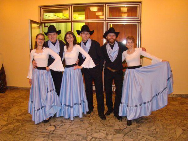 tanečníci z Bonanzy