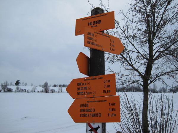 ly<br /> zařské rozcestníky na Novoměstsku