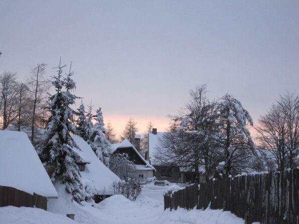 podvečer ve Studnicích