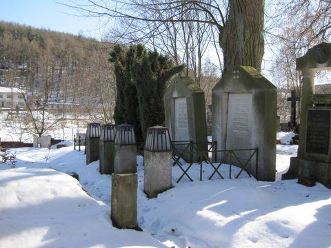 náhrobky rodičů J. Hoffmanna