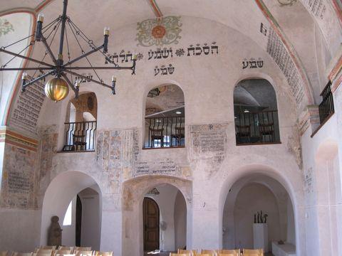 západní stěna synagogy